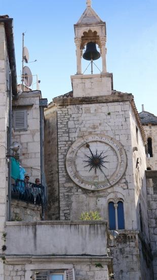 Clock tower detail